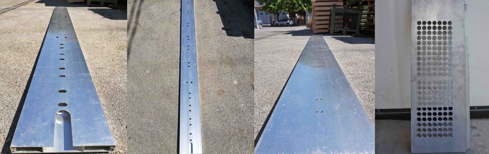 lavorazioni profilati alluminio foratura asolatura maschiatura