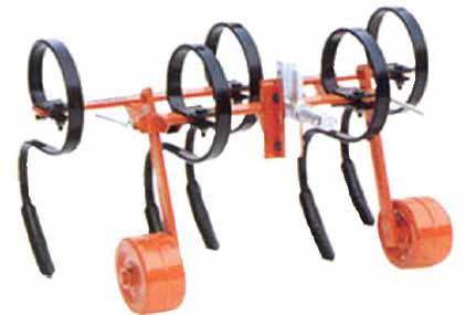 aratro coltivatore ripuntatore per trattore - attrezzatura agricola Calandrini